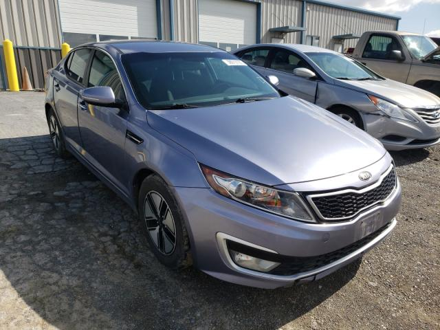 Salvage cars for sale from Copart Chambersburg, PA: 2012 KIA Optima Hybrid