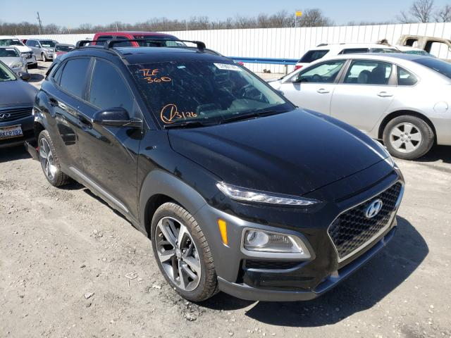 Salvage cars for sale from Copart Rogersville, MO: 2021 Hyundai Kona Limited