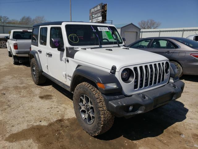 Salvage cars for sale from Copart Wichita, KS: 2018 Jeep Wrangler U