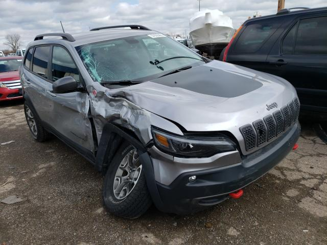 Salvage cars for sale from Copart Woodhaven, MI: 2020 Jeep Cherokee T