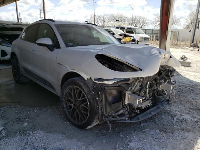 Salvage cars for sale from Copart Homestead, FL: 2015 Porsche Macan S
