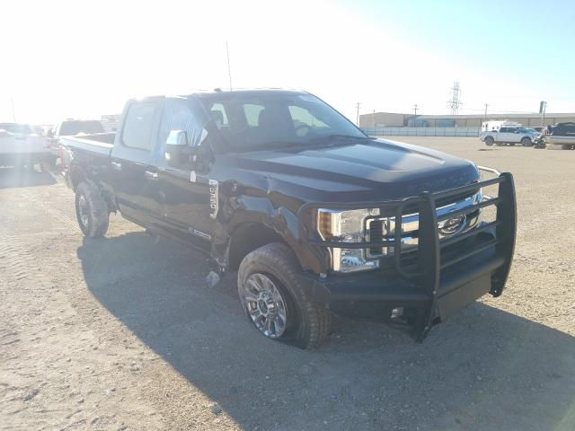 Salvage cars for sale from Copart Abilene, TX: 2019 Ford F350 Super