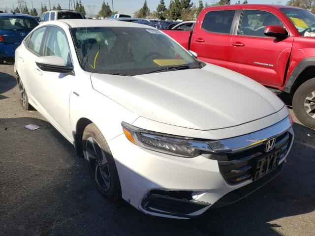 Salvage cars for sale from Copart Rancho Cucamonga, CA: 2021 Honda Insight EX