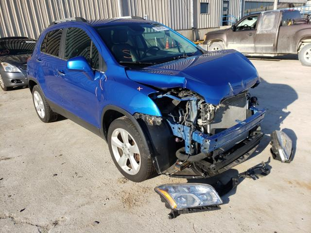 Salvage cars for sale from Copart Lawrenceburg, KY: 2015 Chevrolet Trax LTZ
