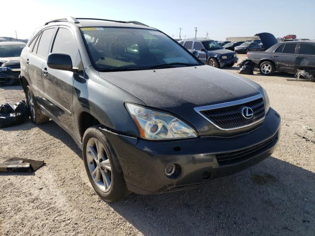 Salvage cars for sale from Copart San Antonio, TX: 2007 Lexus RX 400H