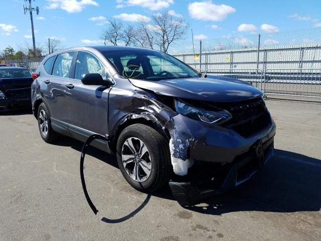 Salvage cars for sale at Brookhaven, NY auction: 2018 Honda CR-V LX