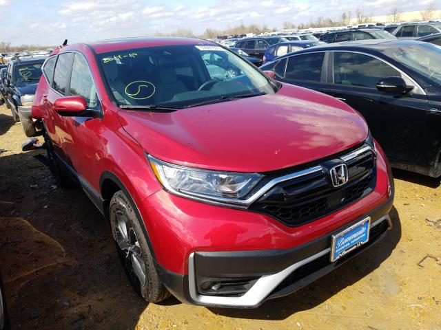 Salvage cars for sale from Copart Bridgeton, MO: 2021 Honda CR-V EXL