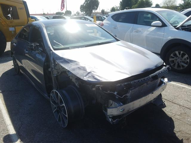 Mercedes-Benz salvage cars for sale: 2020 Mercedes-Benz CLA 250
