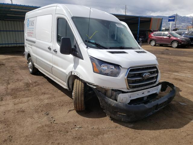 Salvage cars for sale from Copart Colorado Springs, CO: 2020 Ford Transit T