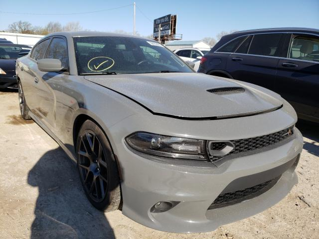 Salvage cars for sale from Copart Wichita, KS: 2019 Dodge Charger SC