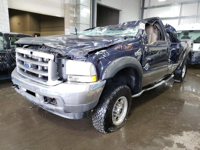 2002 FORD F350 SRW S - Left Front View