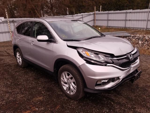 Salvage cars for sale from Copart London, ON: 2016 Honda CR-V SE