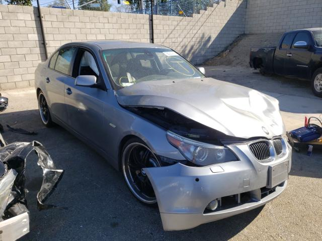 Salvage cars for sale from Copart Colton, CA: 2005 BMW 545 I