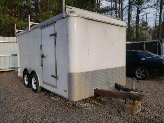Salvage cars for sale from Copart Knightdale, NC: 1999 Pace American Trailer