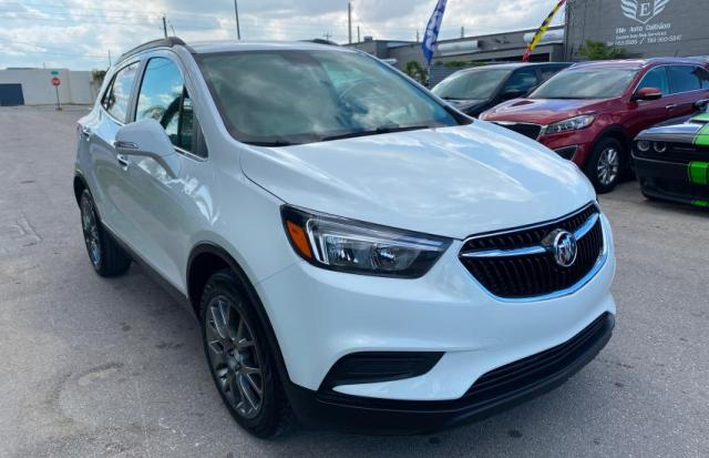 Salvage cars for sale from Copart Homestead, FL: 2019 Buick Encore Sport