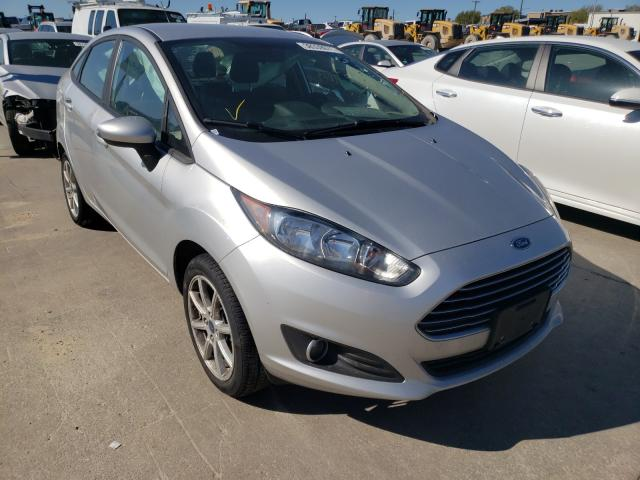 Salvage cars for sale from Copart Grand Prairie, TX: 2019 Ford Fiesta SE