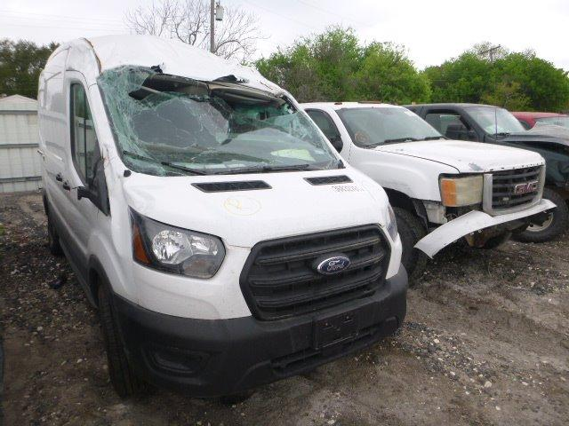 Salvage cars for sale from Copart Corpus Christi, TX: 2020 Ford Transit T