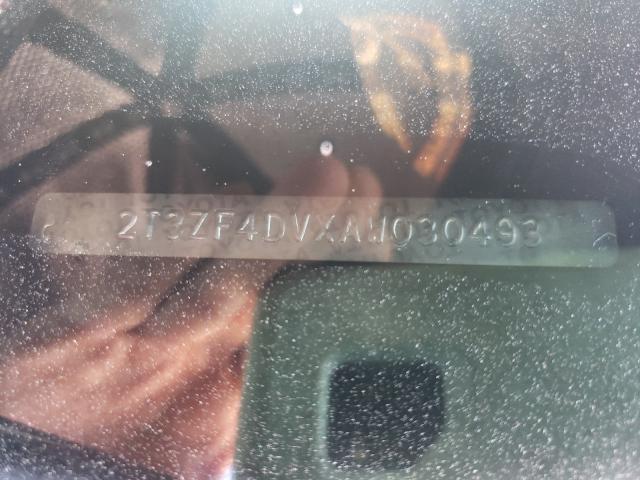 2010 TOYOTA RAV4 2T3ZF4DVXAW030493