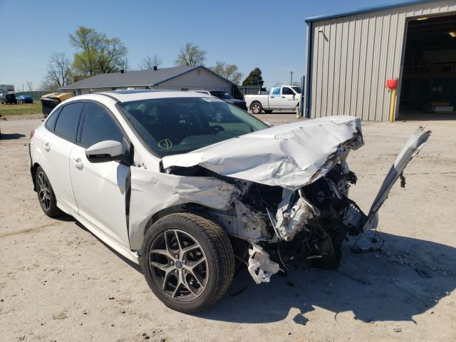 Salvage cars for sale from Copart Sikeston, MO: 2015 Ford Focus SE