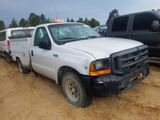 Salvage cars for sale from Copart Gaston, SC: 1999 Ford F250 Super