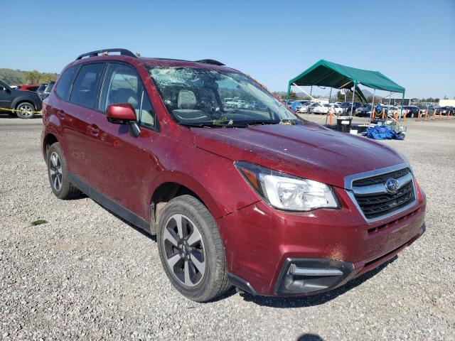 Salvage cars for sale from Copart San Martin, CA: 2018 Subaru Forester 2