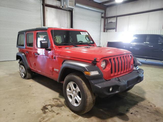 Salvage cars for sale from Copart Lufkin, TX: 2020 Jeep Wrangler U