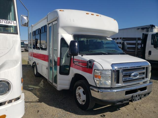 Salvage cars for sale from Copart Sacramento, CA: 2008 Ford E450 Bus