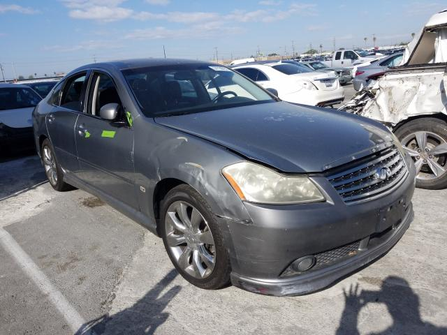 Salvage cars for sale from Copart Sun Valley, CA: 2006 Infiniti M35 Base