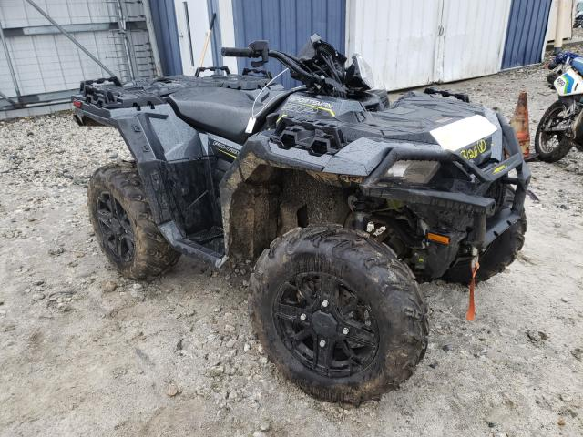 Salvage motorcycles for sale at Warren, MA auction: 2019 Polaris Sportsman