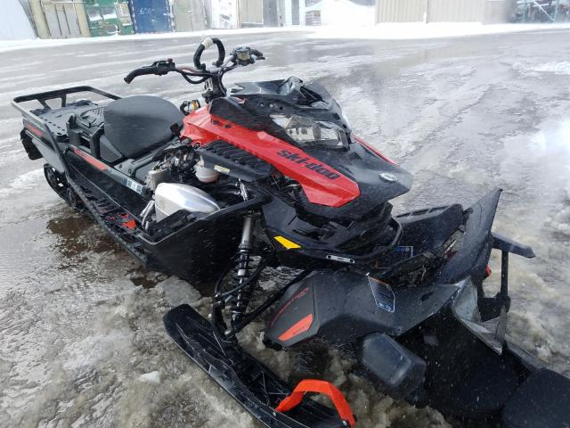 Salvage cars for sale from Copart Montreal Est, QC: 2021 Skidoo Expedition