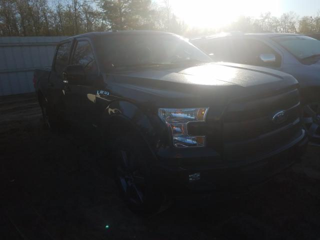 Salvage cars for sale from Copart Gaston, SC: 2017 Ford F150 Super