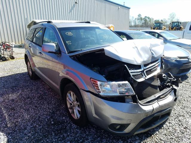 Salvage cars for sale from Copart Spartanburg, SC: 2015 Dodge Journey SX