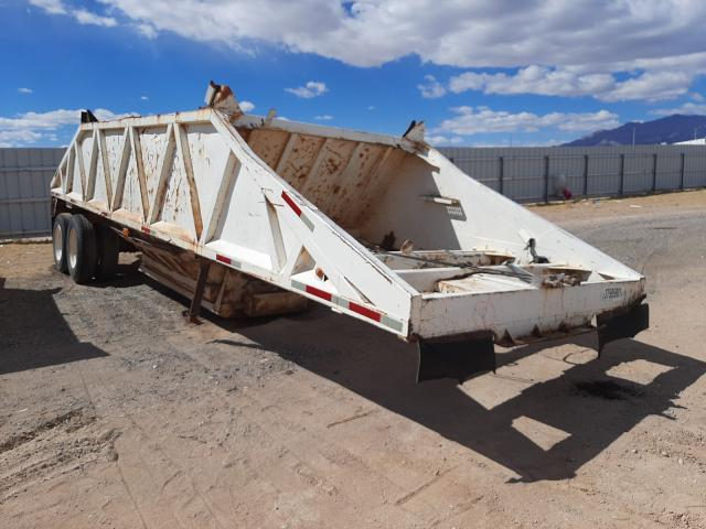 Commander Trailer salvage cars for sale: 1973 Commander Trailer