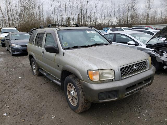 Salvage cars for sale from Copart Arlington, WA: 1999 Nissan Pathfinder