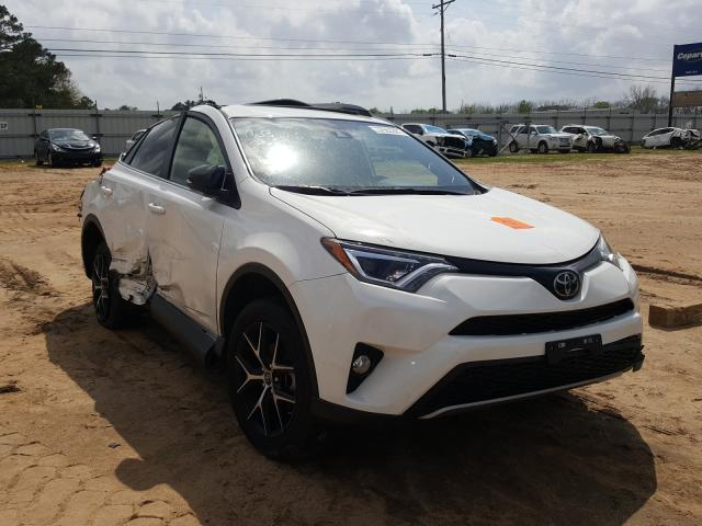 Salvage cars for sale from Copart Newton, AL: 2018 Toyota Rav4 SE