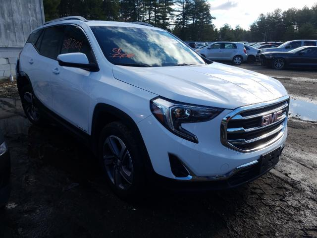 Salvage cars for sale from Copart Lyman, ME: 2020 GMC Terrain SL
