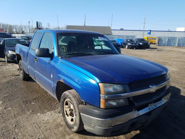 Salvage cars for sale from Copart Hammond, IN: 2004 Chevrolet Silverado