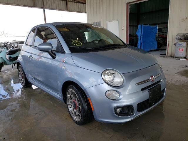 Salvage cars for sale from Copart Homestead, FL: 2013 Fiat 500 Sport