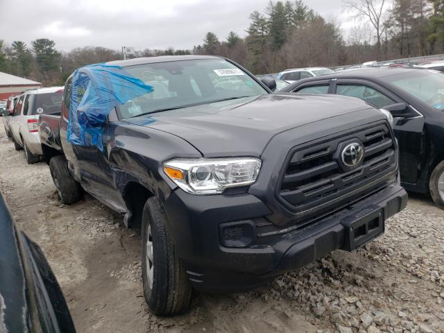 Salvage cars for sale from Copart Mendon, MA: 2018 Toyota Tacoma ACC