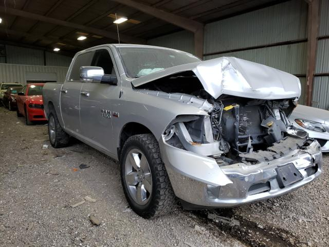 Salvage cars for sale from Copart Houston, TX: 2017 Dodge RAM 1500 SLT