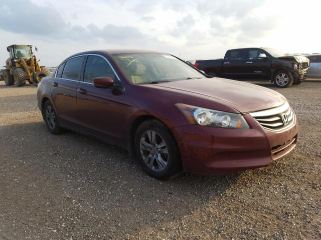 Salvage cars for sale from Copart Houston, TX: 2012 Honda Accord LXP