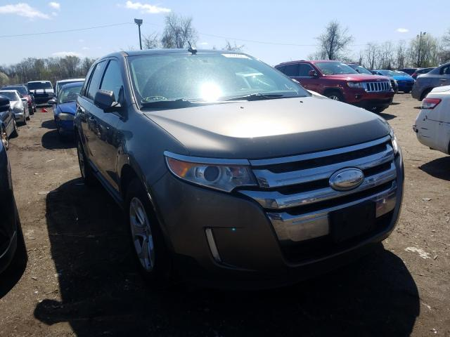 Salvage cars for sale from Copart Baltimore, MD: 2013 Ford Edge SEL