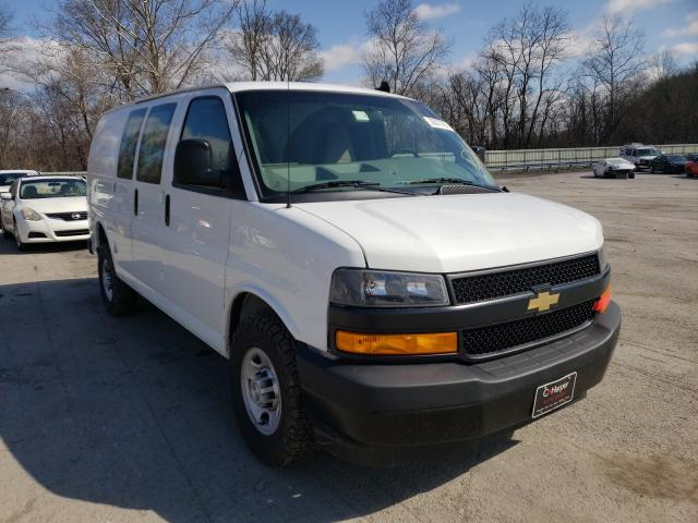 Salvage cars for sale from Copart Ellwood City, PA: 2019 Chevrolet Express G2