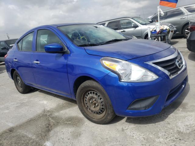 Nissan salvage cars for sale: 2015 Nissan Versa S/SV