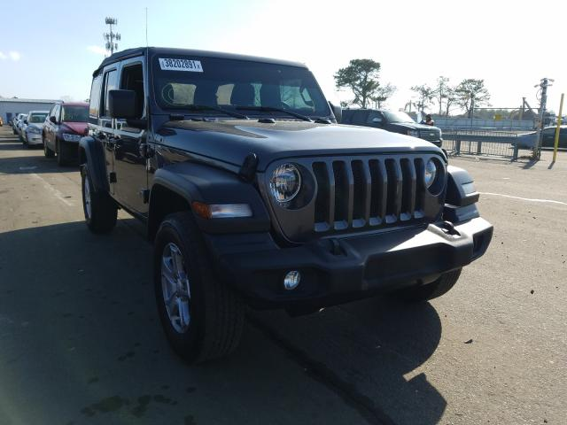Salvage cars for sale from Copart Brookhaven, NY: 2018 Jeep Wrangler U