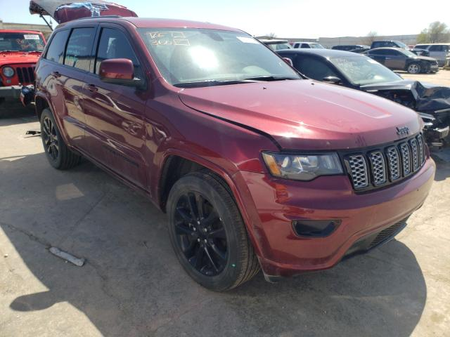 Salvage cars for sale from Copart Tulsa, OK: 2018 Jeep Grand Cherokee