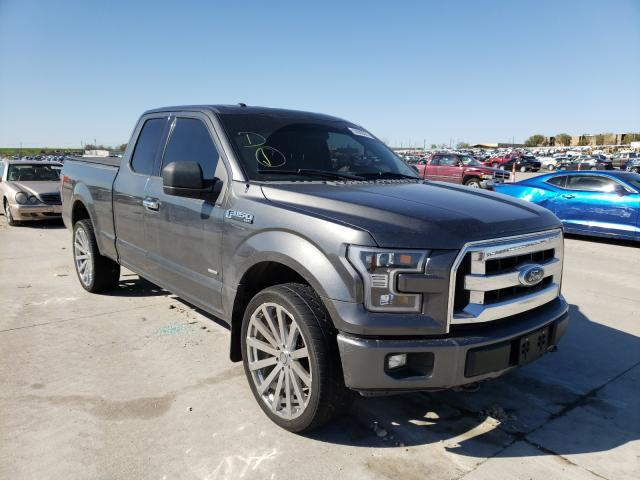 Vehiculos salvage en venta de Copart Grand Prairie, TX: 2017 Ford F150 Super