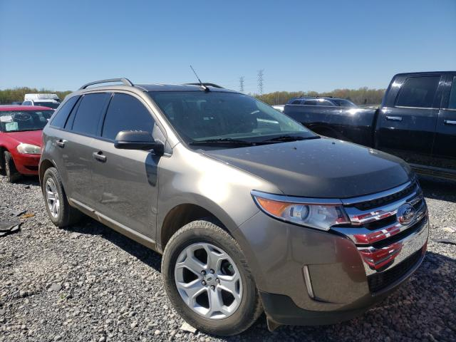 Salvage cars for sale at Memphis, TN auction: 2013 Ford Edge SEL