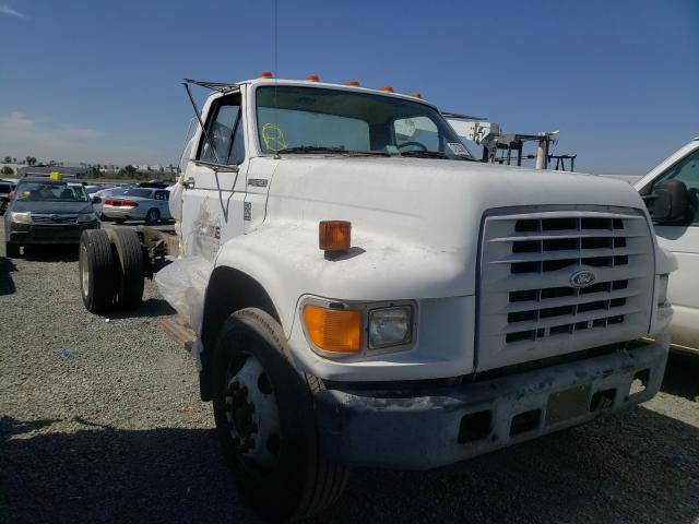 Salvage cars for sale from Copart San Diego, CA: 1998 Ford F700