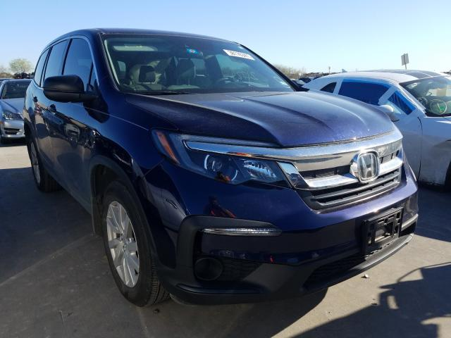 Salvage cars for sale from Copart Grand Prairie, TX: 2019 Honda Pilot LX
